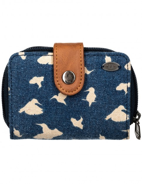Animal First Light Fabric Wallet in Dark Navy
