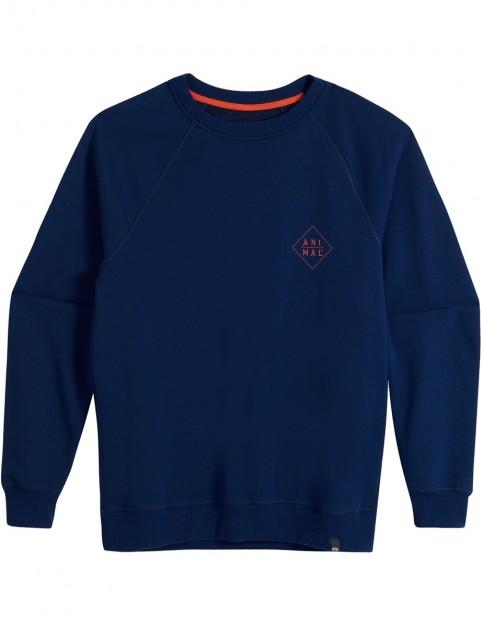 Animal Fischer Sweatshirt in Deepest Blue Marl