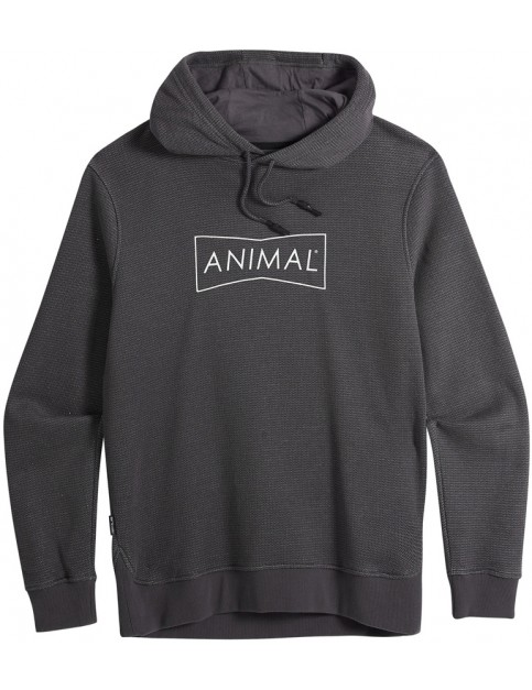 Animal Fontan Pullover Hoody in Pavement Grey