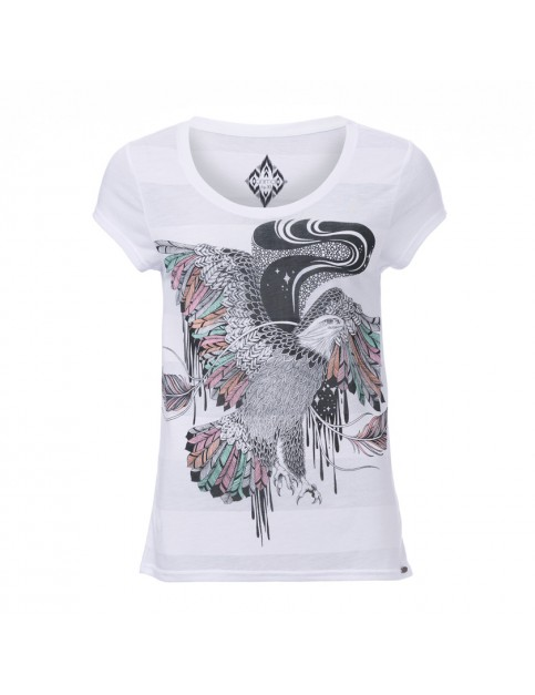 Animal Free Spirit Short Sleeve T-Shirt in White