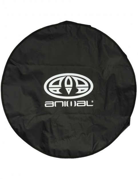 Animal Freshwater Beach Towel in Black
