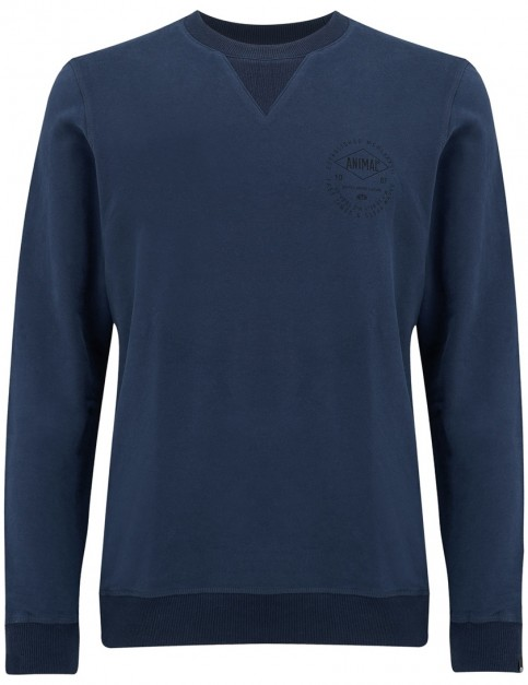 Animal Grant Sweatshirt in Dark Navy