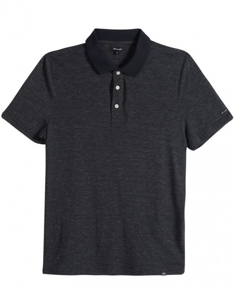 Animal Gregg Polo Shirt in Black Marl