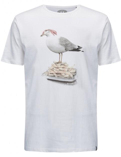 Animal Gully Short Sleeve T-Shirt in White