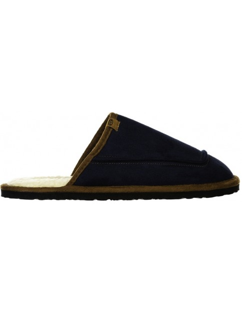 Animal Halfpipe Slippers in Dark Navy