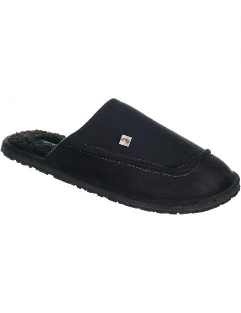 Animal Halpipe Slippers in Black