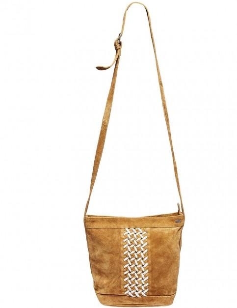 Animal Hemley Cross Body Bag in Tan
