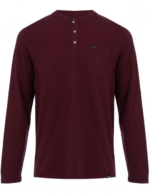 Animal Henn Long Sleeve T-Shirt in Tawny Purple