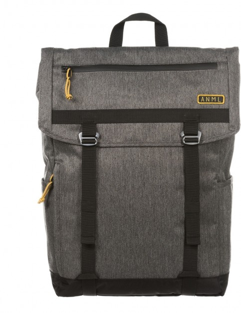 Animal Hexx Technical Backpack in Black