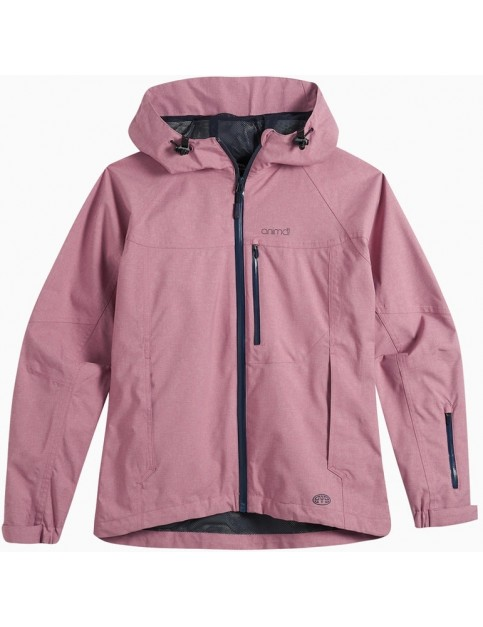 Animal Hillside Jacket in Woodrose Pink
