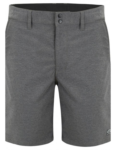 Animal Hugo Shorts in Dark Charcoal Marl