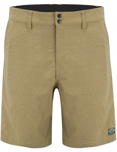 Animal Hugo Short Boardshorts in Lizard Green Marl