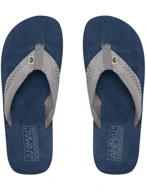 Animal Hyde Flip Flops in Dark Navy