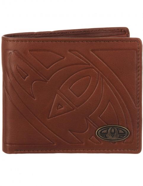 Brown Animal Inigo Leather Wallet