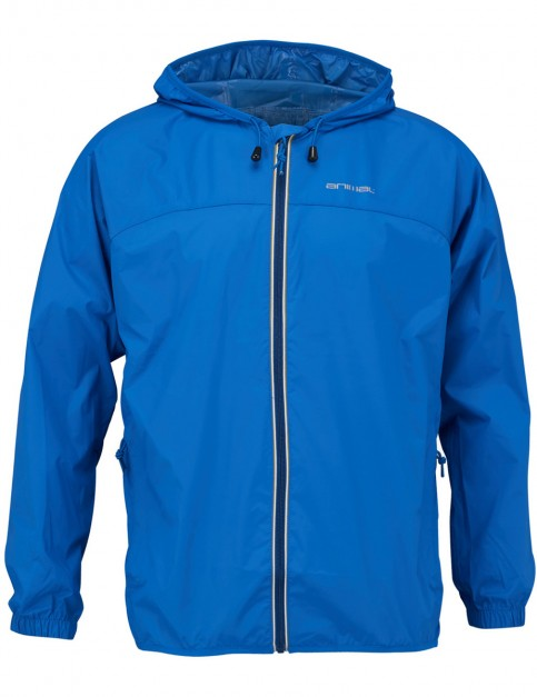 Animal Jase Rain Jacket in Royale Blue