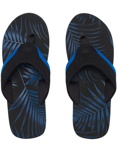 Animal Jekyl Aop Flip Flops in Snorkel Blue