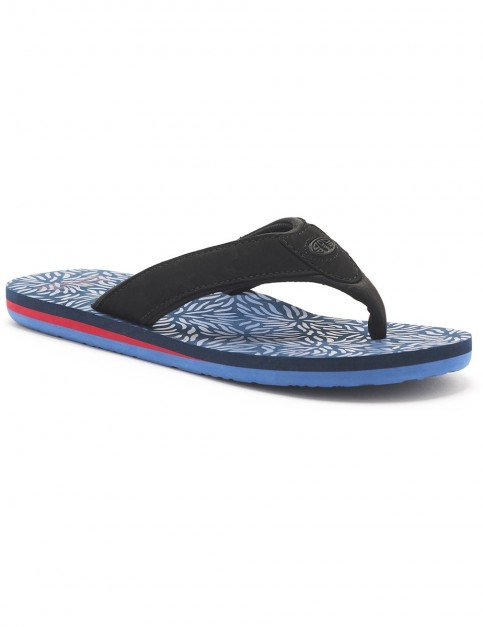 Animal Jekyl Swim Flip Flops in Lakewood Blue