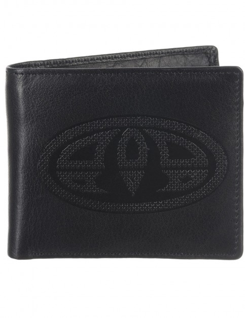 Black Animal Jeremie Leather Wallet