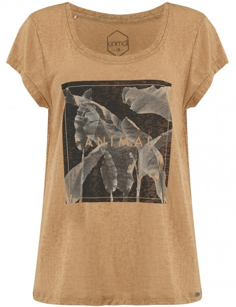 Animal Jungle Fever Short Sleeve T-Shirt in Leaf Green