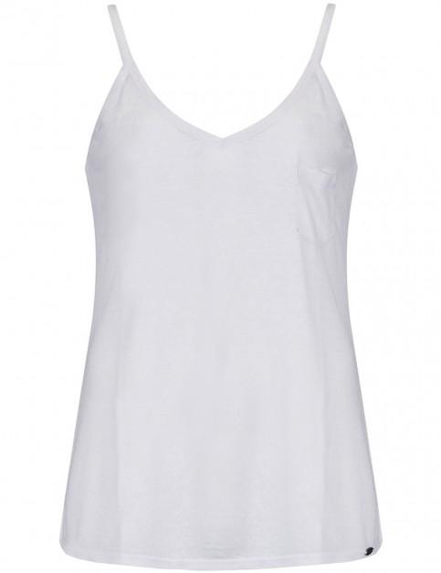 Animal Juniper Sleeveless T-Shirt in White