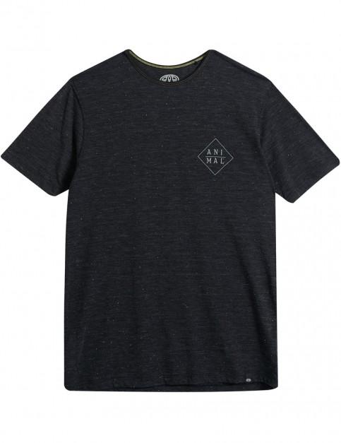 Animal Kasa Short Sleeve T-Shirt in Black