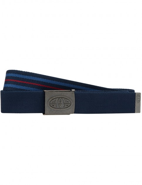 Animal Kellen Webbing Belt in Dark Navy