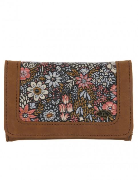 Animal Kelli Faux Leather Wallet in Tan