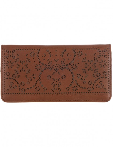 Animal Kendall Leather Wallet in Tan