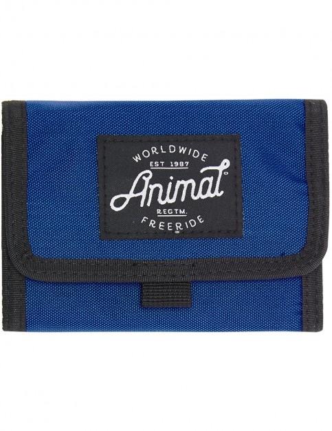 Animal Kicks Polyester Wallet in Snorkel Blue