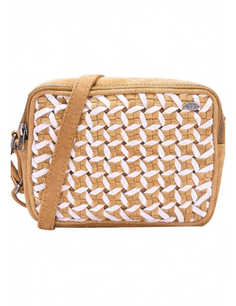 Animal Lagoon Cross Body Bag in Tan