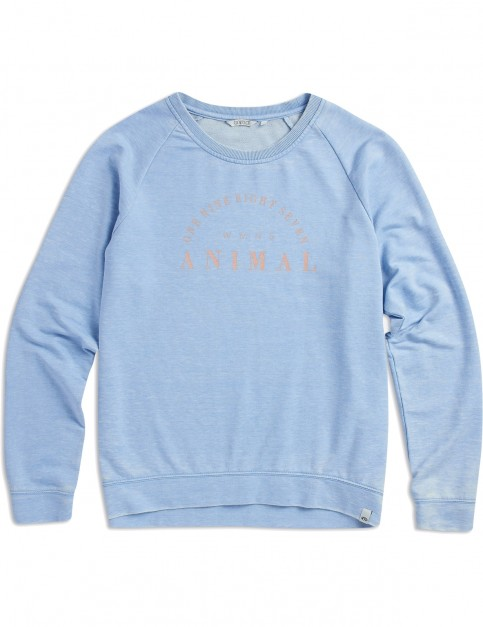 Animal Lamu Sweatshirt in Forever Blue Marl