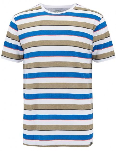 Animal Laripa Short Sleeve T-Shirt in Stripes