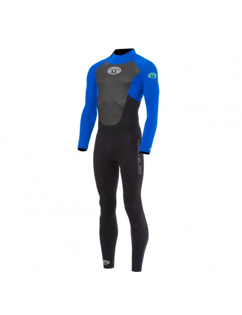Animal Lava Gbs Back Zip Full Wetsuit in Ultra Violet Blue