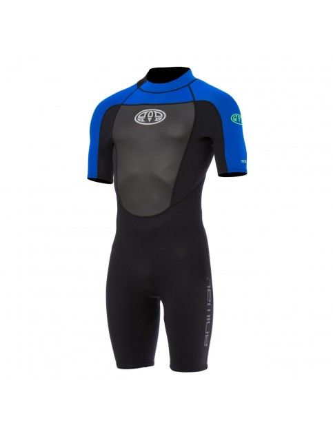 Ultra Violet Blue Animal Lava Gbs Shorty Wetsuit
