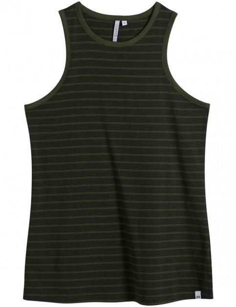 Animal Layers Sleeveless T-Shirt in Woodland Green