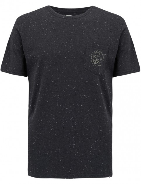 Animal Leash Short Sleeve T-Shirt in Black