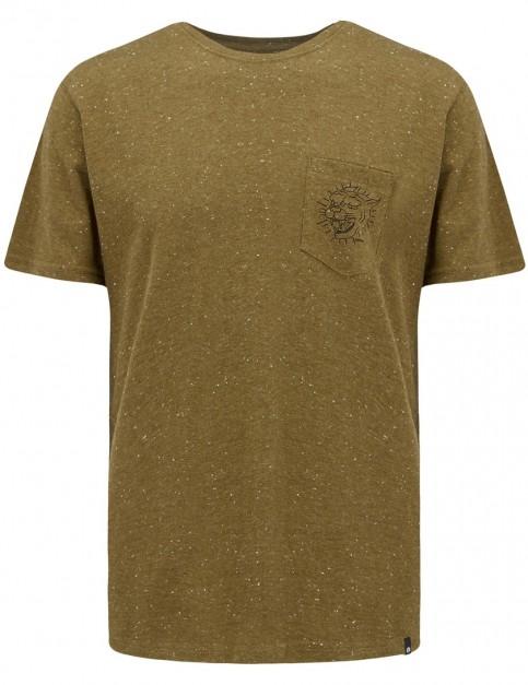 Animal Leash Short Sleeve T-Shirt in Lizard Green