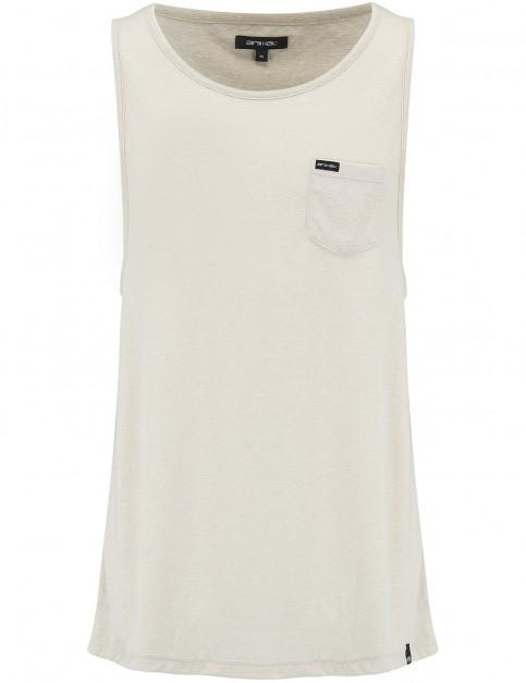 Animal Leon Sleeveless T-Shirt in Stone Grey Marl
