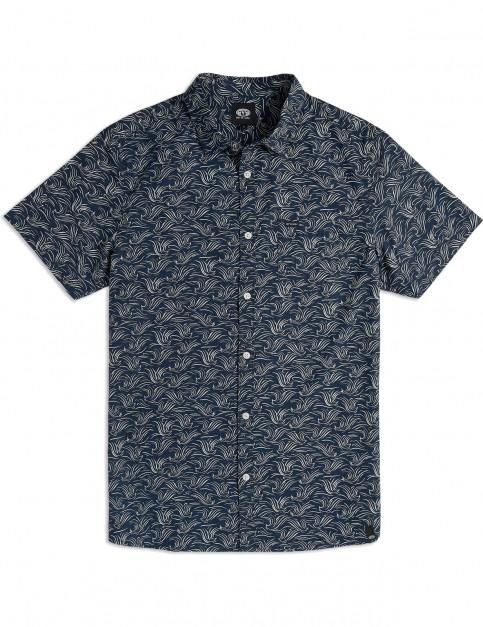 Animal Local Short Sleeve Shirt in Dark Navy