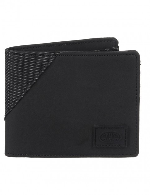 Animal Lorcan Faux Leather Wallet in Black