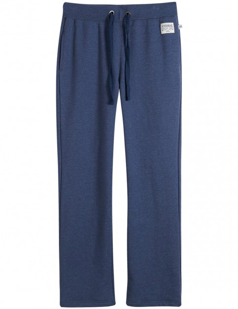 Animal Lounger Track Trousers in Dark Navy Marl