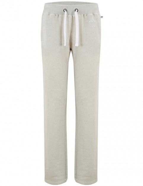 Animal Lounger Track Trousers in Grey Marl