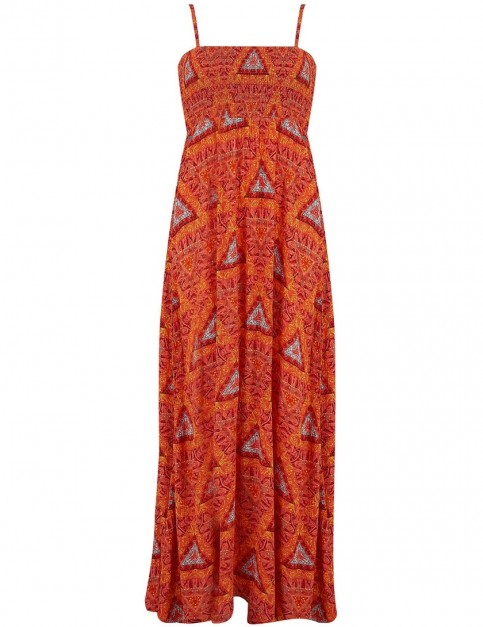 Animal Luluu Dress in Cranberry Red