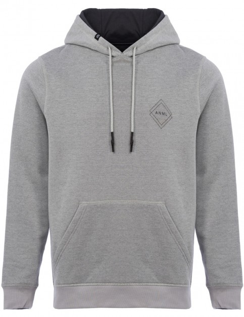 Animal Makit Pullover Hoody in Violet Grey
