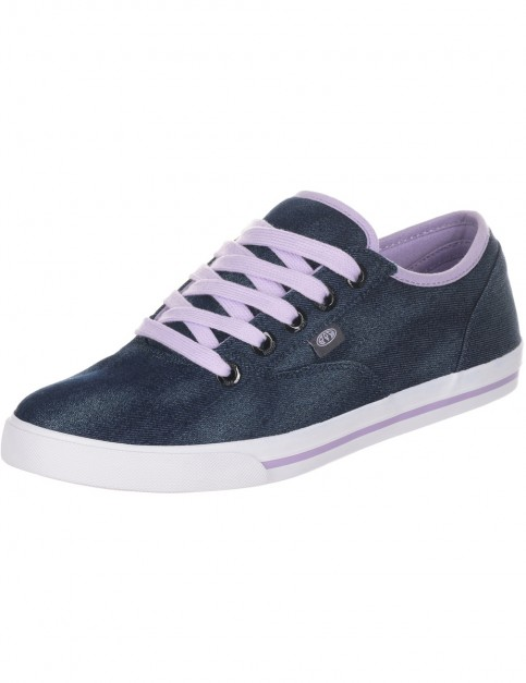 Animal Marcy Trainers in Navy Blue