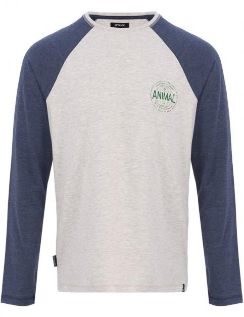 Animal Mark Long Sleeve T-Shirt in Dark Navy