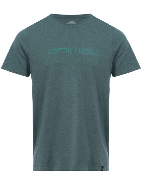Animal Marrly Short Sleeve T-Shirt in Moss Green Marl