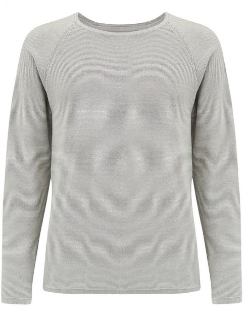 Animal Maurice Long Sleeve Shirt in Steel Grey