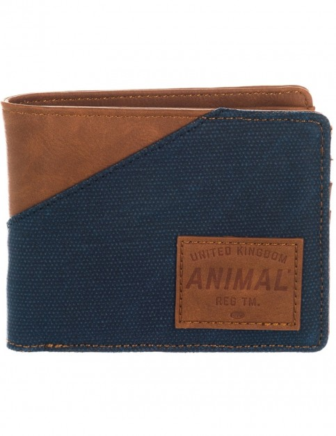 Animal Melvich Faux Leather Wallet in Tan