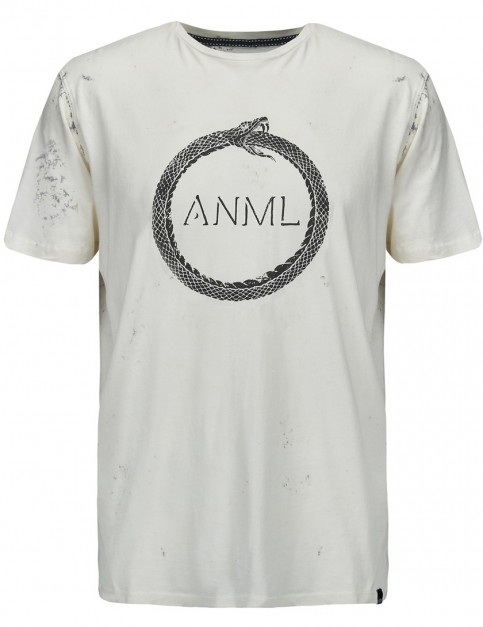Animal Minerals Short Sleeve T-Shirt in White
